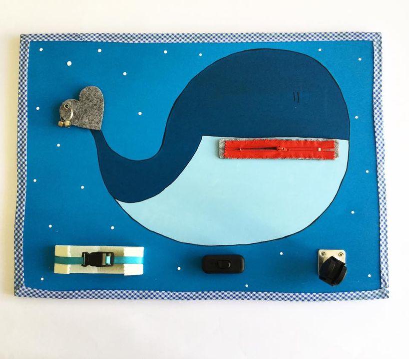 quadro interattivo Balena