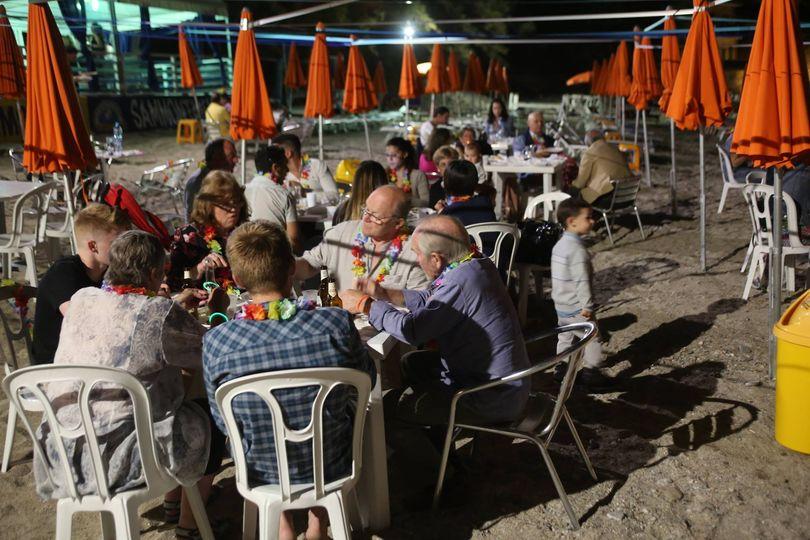 Party in spiaggia a Chianalea Scilla
