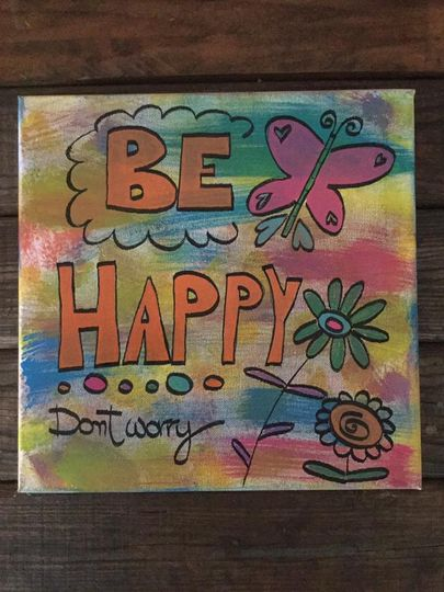 Don't worry be happy 😀