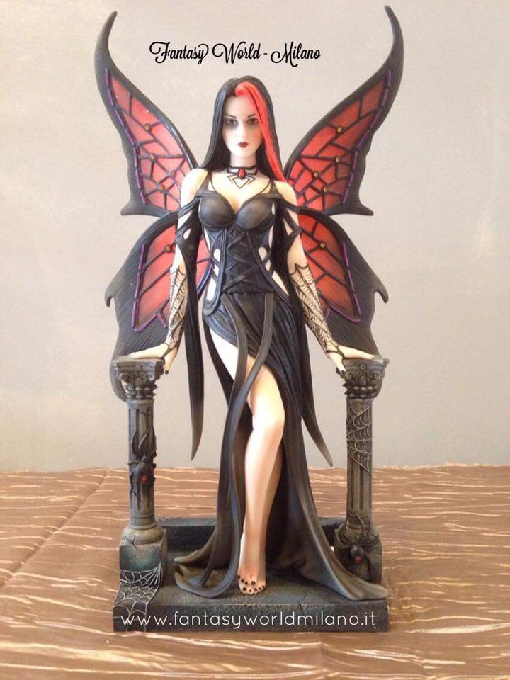 Aracnafaria Limited Edition by Anne Stokes 🕷