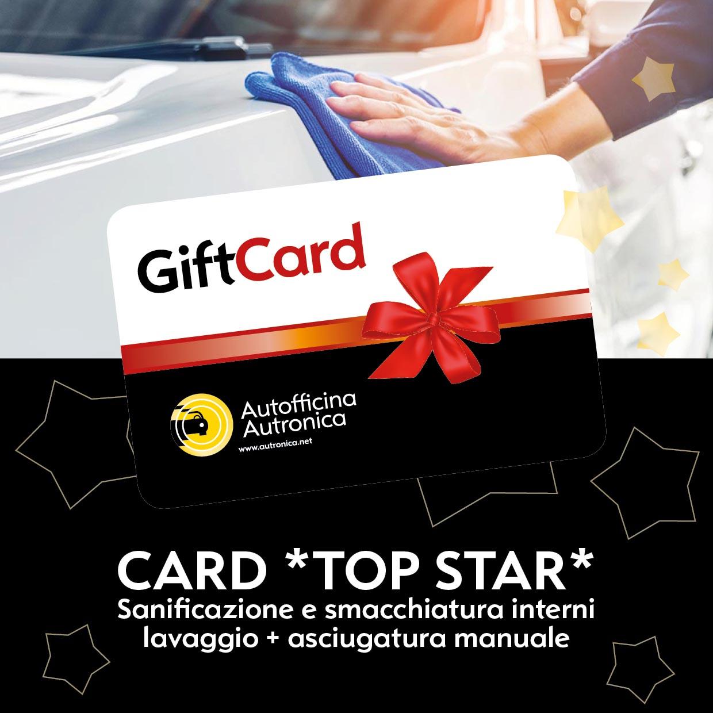 CARD *TOP STAR* Sanificazione e smacchiatura