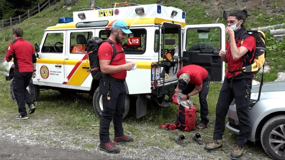 Bergretter arbeiten grenzüberschreitend zusammen