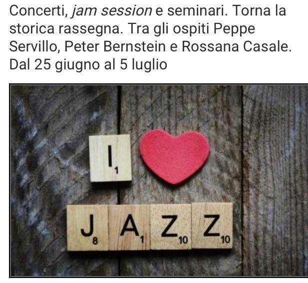 Stasera alle 21.40 al Porto Mirabello si esibisce la Jazzschool Studio Band - California JazzConservatory