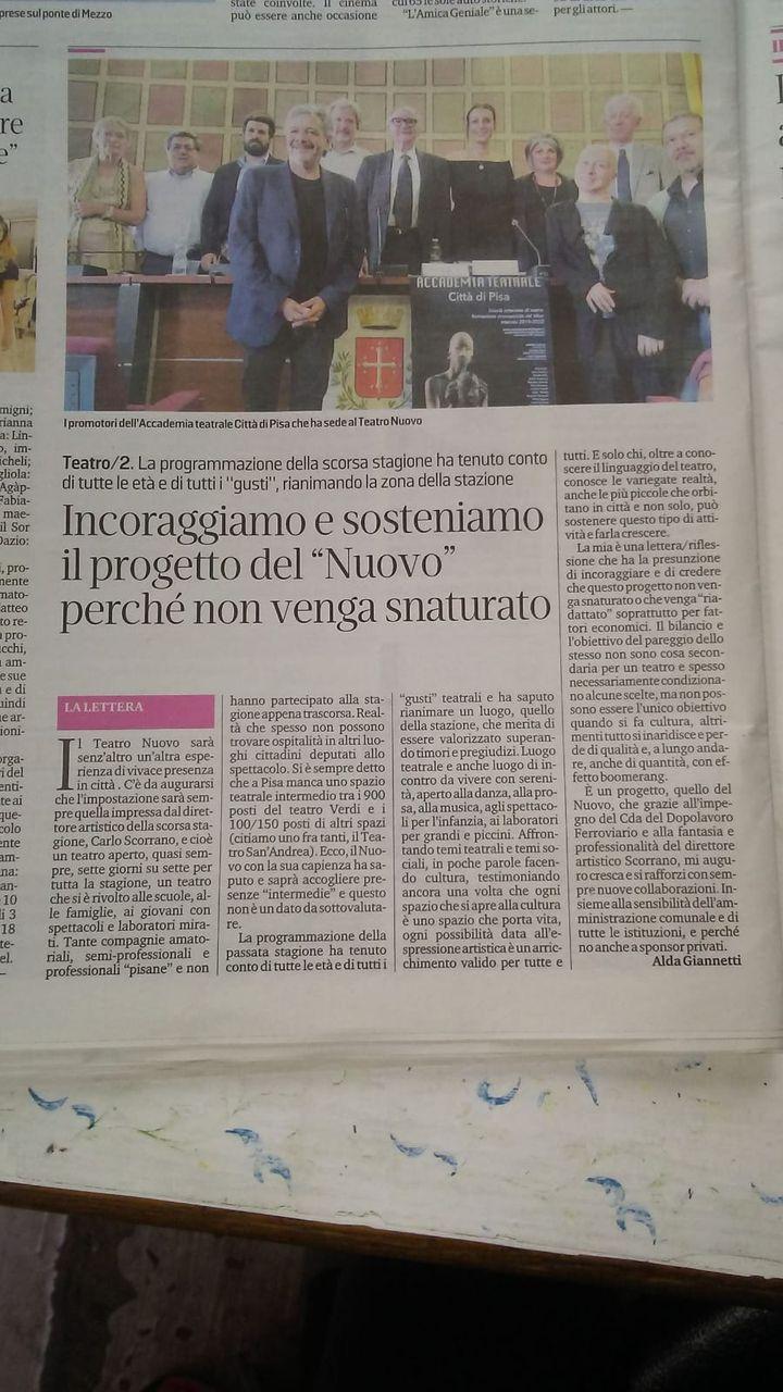 Teatro Nuovo Pisa